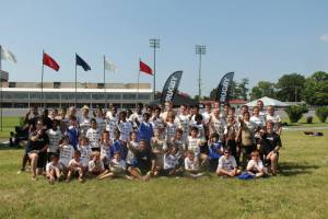 Serevi Rugby Greater Washington, D.C. Camp participants. Courtesy Serevi Rugby on Facebook